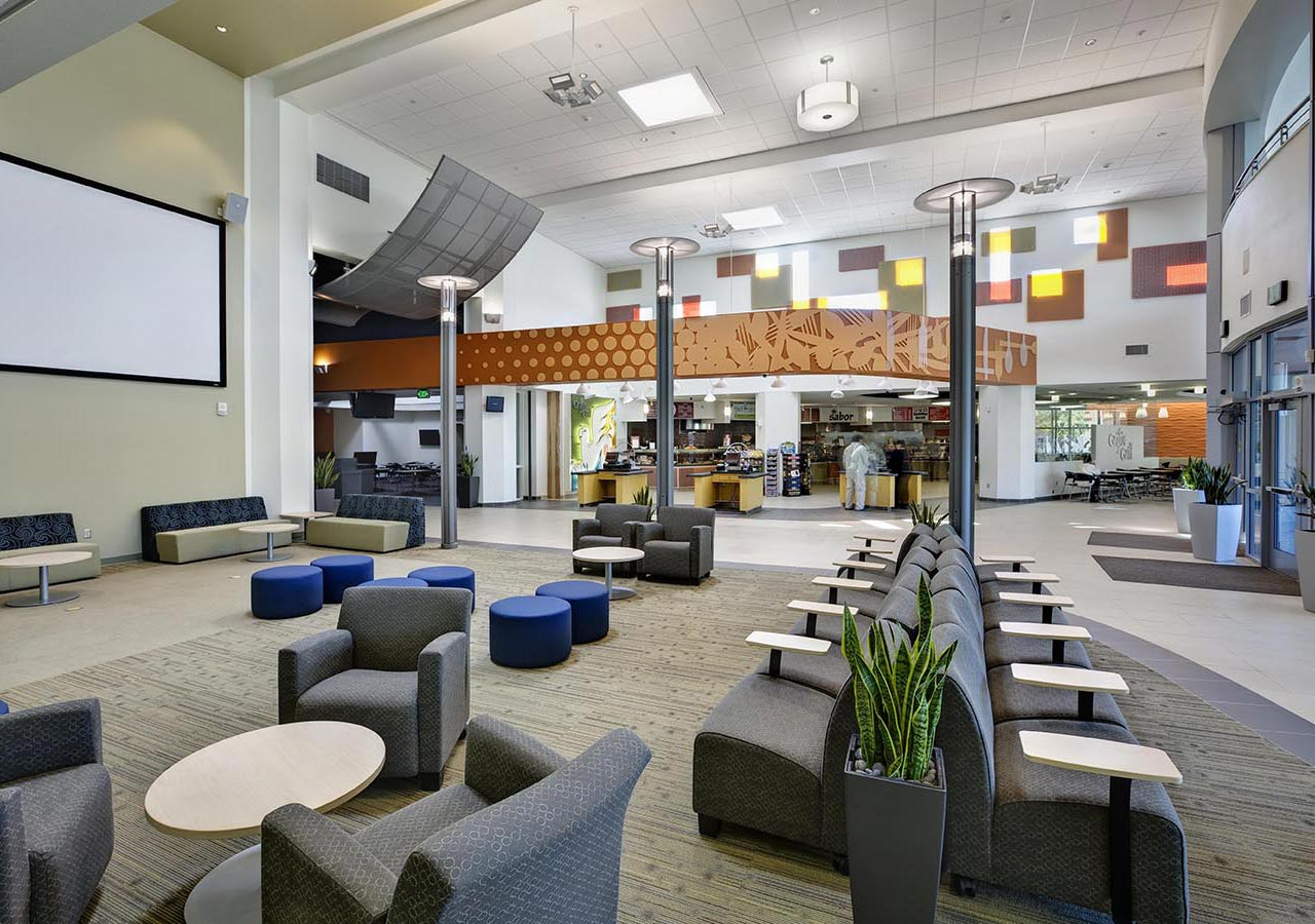 Grossmont College Griffin Center lounge
