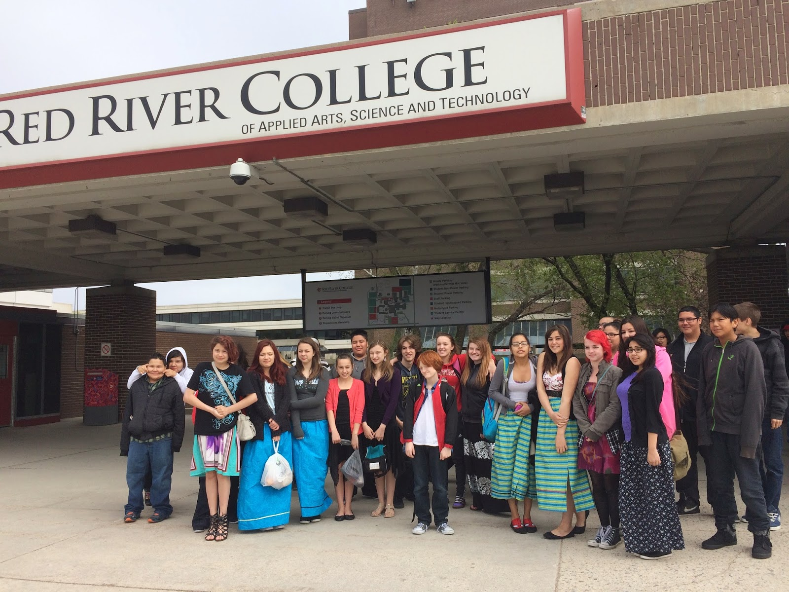 Red River College, Top 10 Intensive research College at Canada