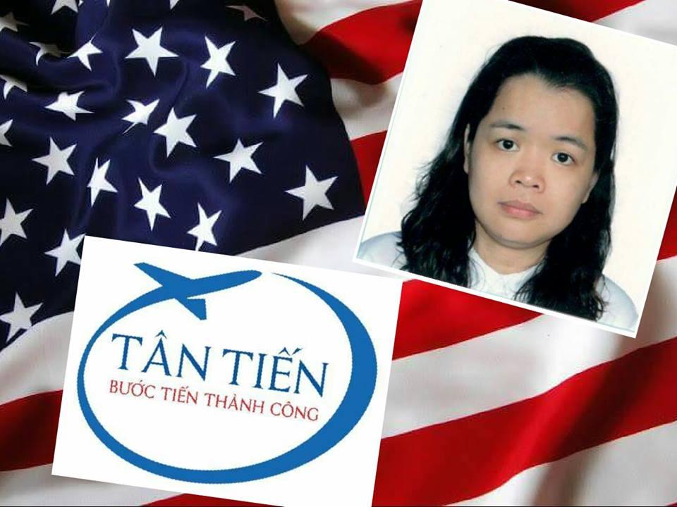 Chúc mừng học sinh đậu visa Du học Mỹ bang California