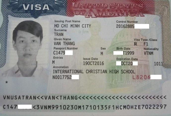 Chúc mừng học sinh đậu visa du học Mỹ bang Philadelphia