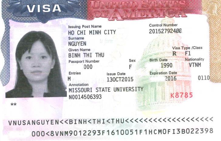 Chúc mừng học sinh đậu visa du học Mỹ