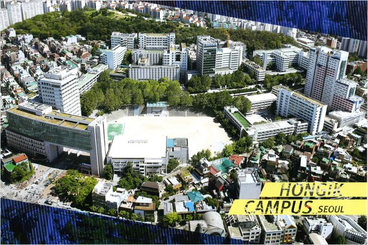Du học Hàn Quốc 2017 trường đại học Hongik, Mapo Seoul