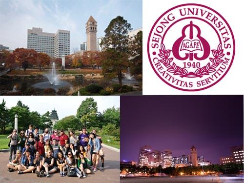 Du học Hàn Quốc: Trường đại học Sejong - Sejong university