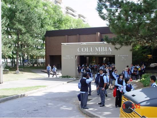 Du học THPT Canada tại Ontario, Columbia International College