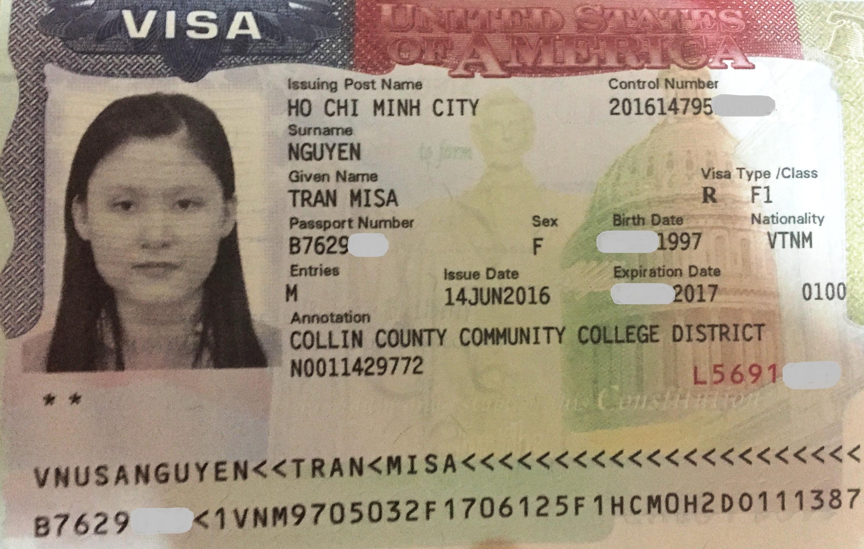 Gia hạn visa du học Hoa Kỳ - Học sinh Misa
