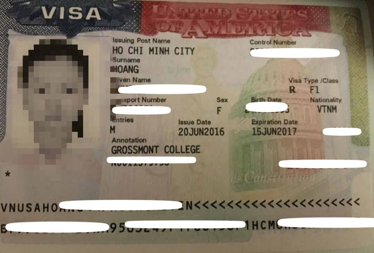 Gia hạn Visa du học Mỹ học sinh Phương Uyên