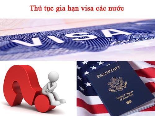 Hướng dẫn thủ tục xin gia hạn visa nhanh gọn