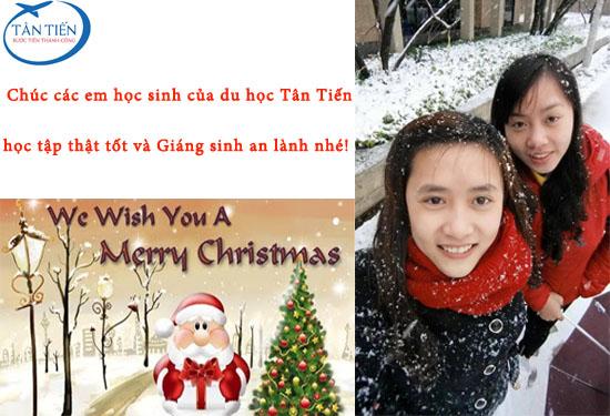 Tưng bừng khuyến mãi mừng Giáng sinh cùng du học Tân Tiến