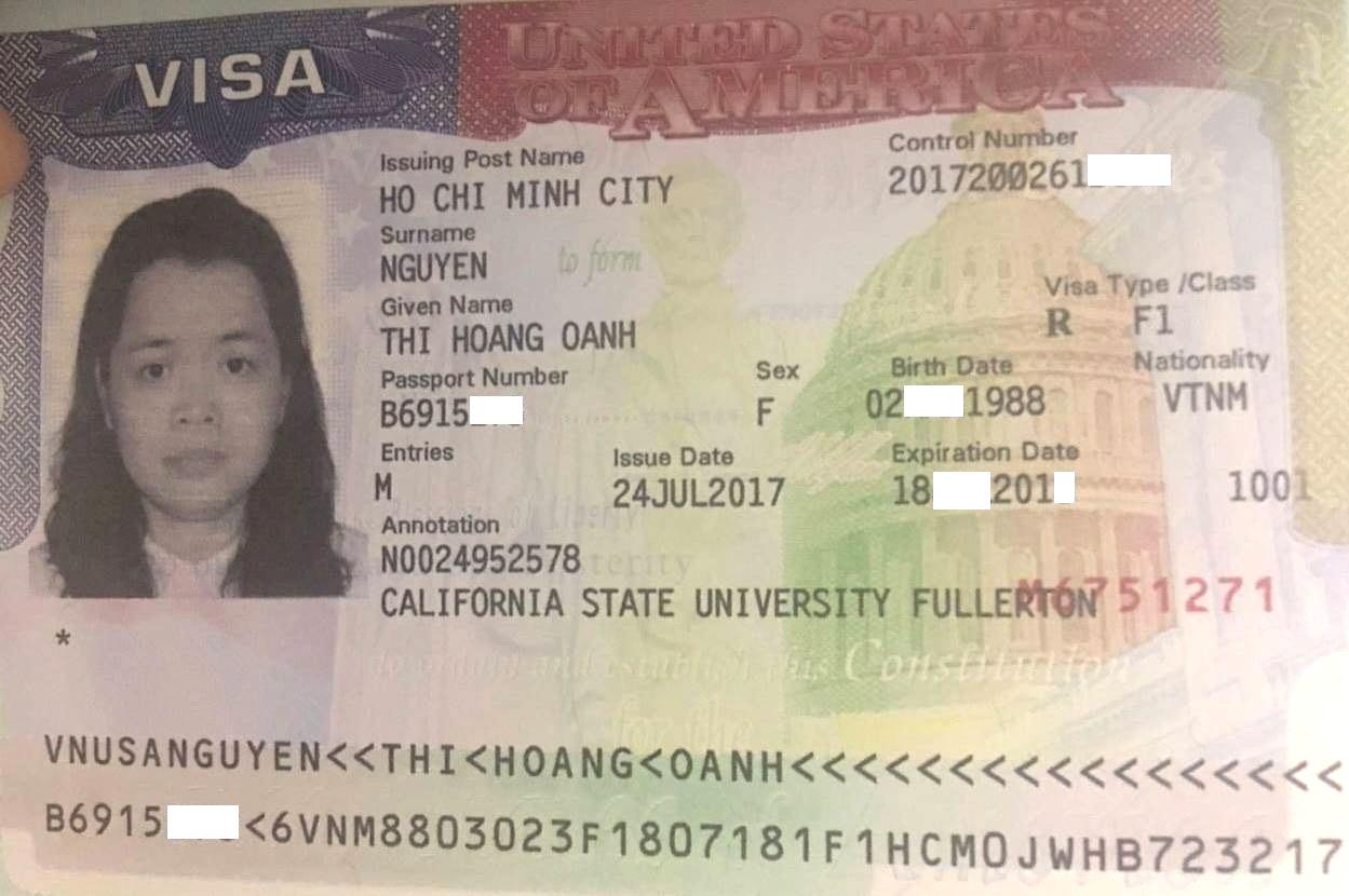 Visa du học Mỹ 2017 tại California State University Fullerton