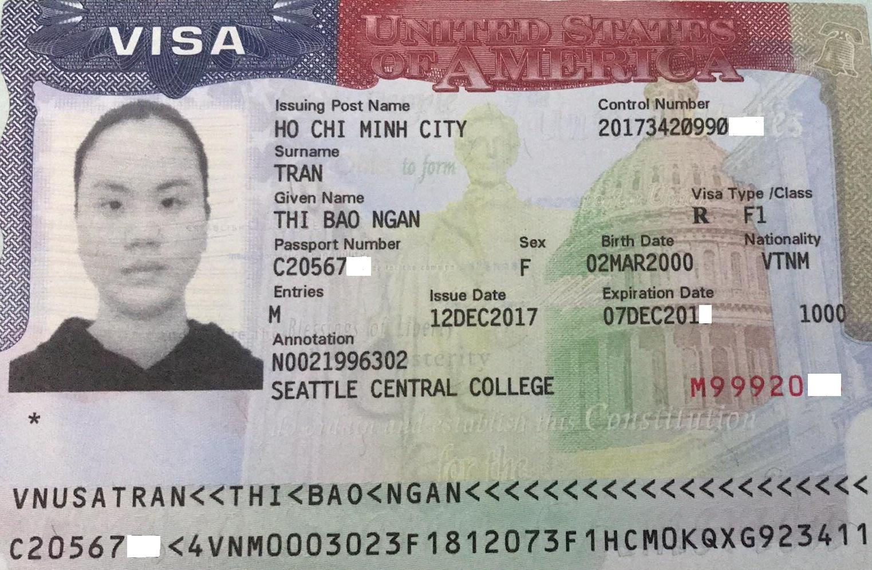 Visa du học Mỹ 2018 trường Seatlte Central College